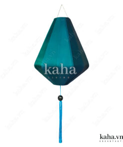 Đèn lồng khung sắt bọc vải kiểu kim cương KH-DT015