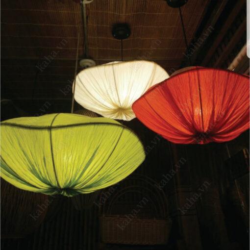 Đèn đĩa bay vải nhăn KH-DTR004 02