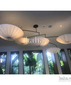 Đèn vải combo đĩa 5 cái KH-DTR014