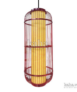 Đèn treo khung sắt kiểu lồng chim KH-DTR072