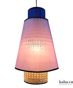 Đèn vải treo kiểu chụp đèn KH-DTR022