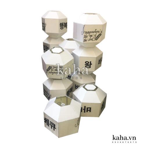 Đèn lục giác kiểu Hàn KH-DL001