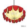 Đèn vải hoa sen lá đa KH-DTR016