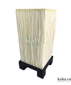 Đèn bàn trụ đế gỗ KH-DB005