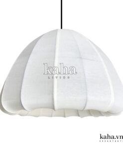 Đèn treo kiểu mận vải lụa KH-DTR009