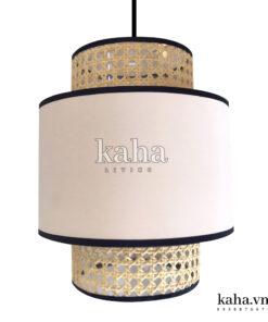 Đèn vải trang trí quán BBQ KH-DTR020
