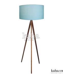 Đèn sàn gỗ 3 chân KH-DS002