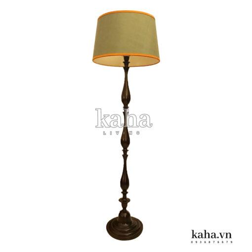 Đèn sàn gỗ tiện KH-DS003