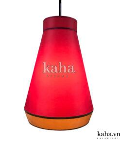 Đèn vải tú cầu dán mica KH-DTR025