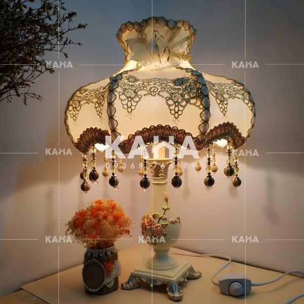 Gia công chụp đèn vải 012120