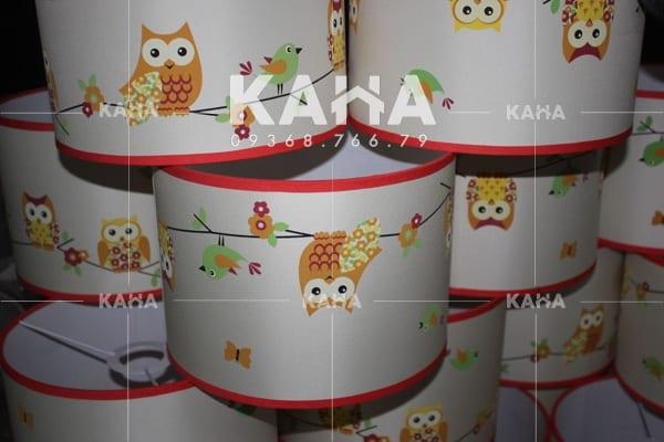 Gia công chụp đèn vải 01238