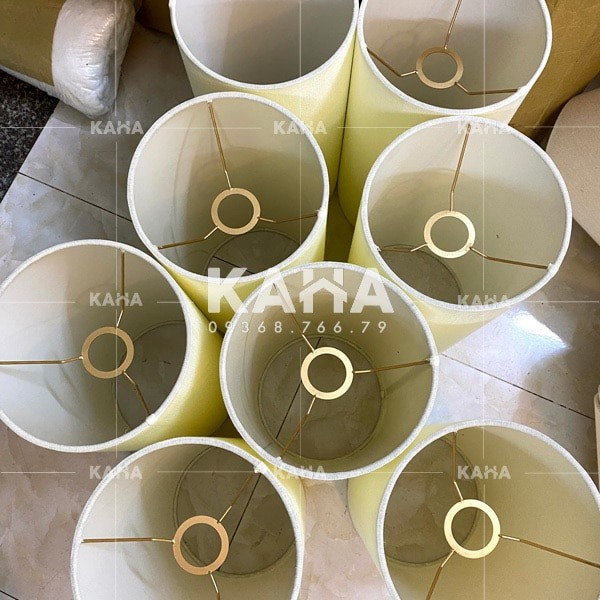 Gia công chụp đèn vải 0128