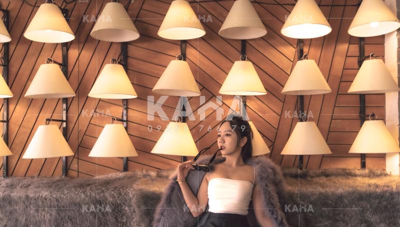 KAHA nhận gia công đèn vải